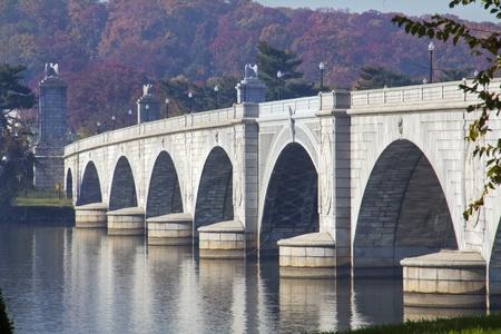 Arlington Memorial Bridge in Washington DC USA