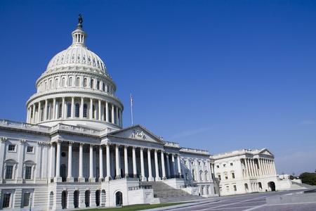 US Capitol Building, Washington DC, USA ciel bleu wth Banque d'images - 13038383