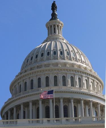 US Capitol dome, Washington DC USA  photo