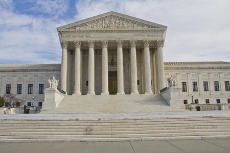 USA Supreme Court building in Washington, DC, USA