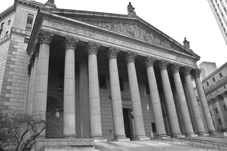 The New York Supreme Court in New York City
