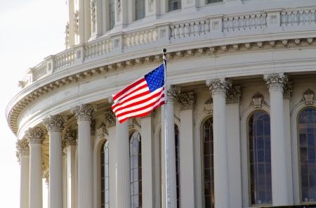 regierung: US Capitol Building, Dome Nahaufnahme, Washington DC Lizenzfreie Bilder