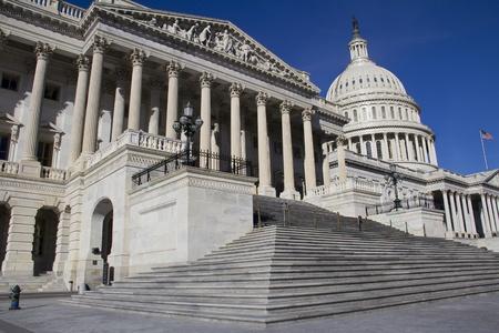 US Capitol Building, Washington, DC, le Congrès américain, il est à l'extrémité est de la National Mall Banque d'images - 13308597