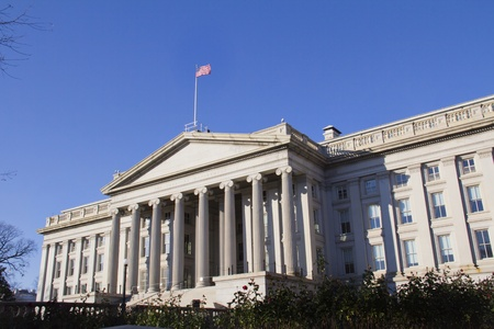 The Treasury Department in Washington DC  photo