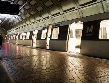 metro: Union Station Metro station in Washington DC, United States Stock Photo