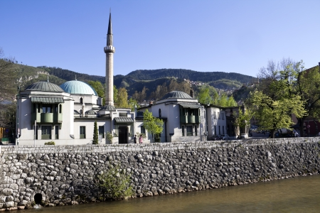 Mosque in Sarajevo  photo