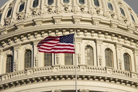 Washington DC , Capitol Building - detail, US  Banque d'images