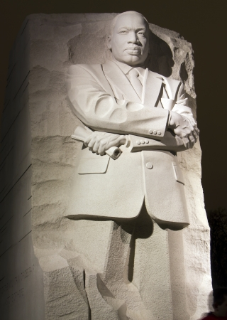 Martin Luther King Monument in Washington DC Editorial