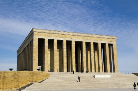 mausoleum: Ankara, Turkey - Mausoleum of Ataturk, Mustafa Kemal Ataturk, first president of the Republic of Turkey   Editorial