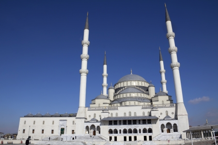 Kocatepe Mosque in Ankara, Turkey  photo