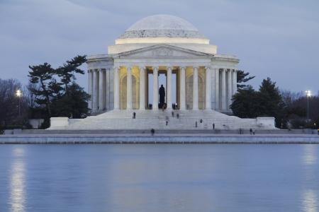 Thomas Jefferson Memorial, in Washington DC