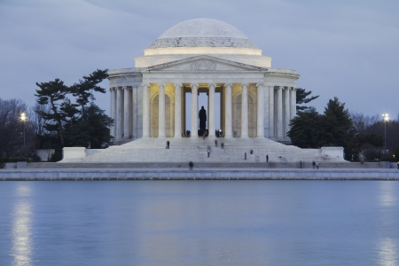 Thomas Jefferson Memorial, in Washington DC