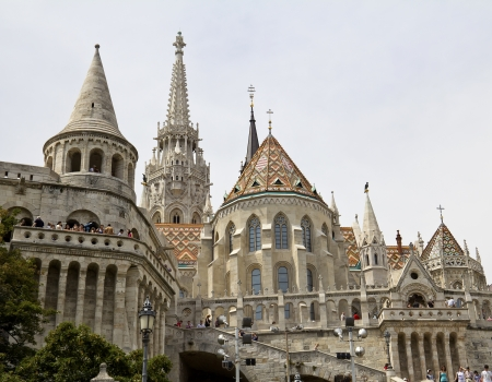 schulek: Fisherman s Bastion in Budapest, Hungary