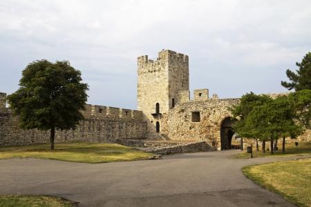 architecture details of Kalemegdan fortress in Belgrade, Despot s Gate