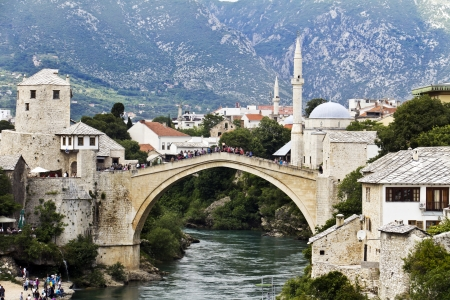 mostar: Old Bridge, Mostar, Bosniaand Herzegovina