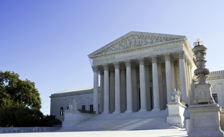 Supreme Court in Washington, DC, United States of America Banque d'images
