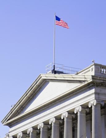 The Treasury Department in Washington DC photo
