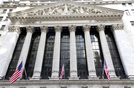 money exchange: Wall Street New York Stock Exchange is the world s largest stock exchange