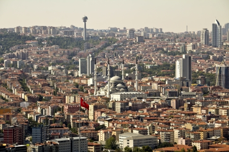 Ankara, Capital city of Turkey  Stock Photo