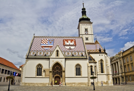 St  Mark s Church in Zagreb, Croatia