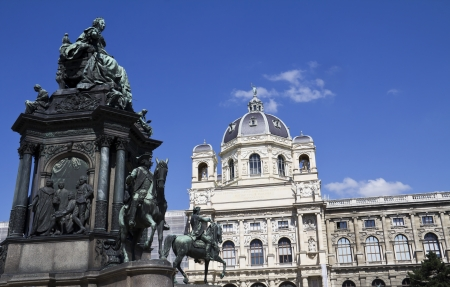 Vienna, Austria - Maria Theresia and Natural History Museum  The Old Town is a UNESCO World Heritage Site