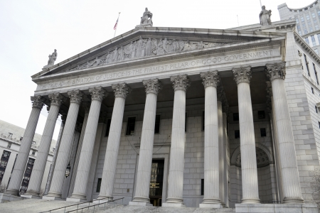 The New York Supreme Court in New York City Stock Photo - 16817008