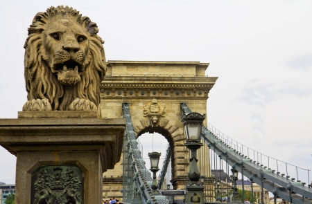 The Chain Bridge in Budapest, Sightseeing in Hungary