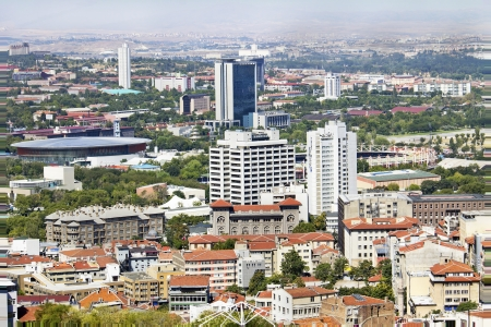 Ankara, Capital city of Turkey  Stock Photo