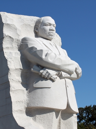 Martin Luther King Jr  Monument in Washington DC  photo