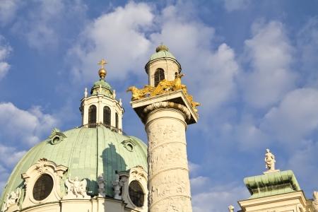 st charles: Chiesa di San Carlo s, Karlskirche, Karlsplatz, Vienna