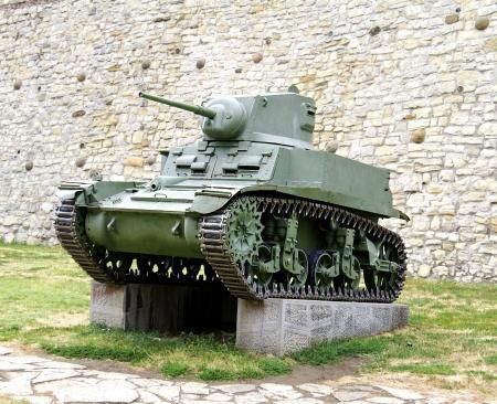 tanque de guerra: Segunda Tanque de guerra, el general Stuart Modelo M3A1 Foto de archivo