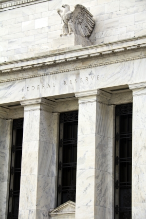 FED, headquarters of the Federal Reserve in Washington, DC, USA