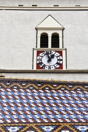 st  mark s: Chiesa di San Marco s a Zagabria, Croazia - dettagli