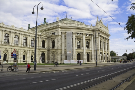 Hofburg theater  Vienna, Austria Stock Photo - 17687078