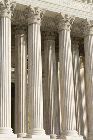 Classical marble columns Banque d'images