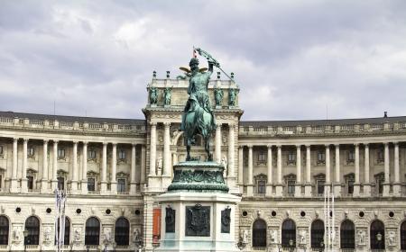 eugene: Hofburg in Vienna, Austria Stock Photo