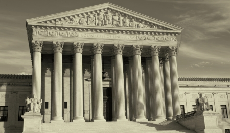 Supreme Court building in Washington, DC, United States of America  photo