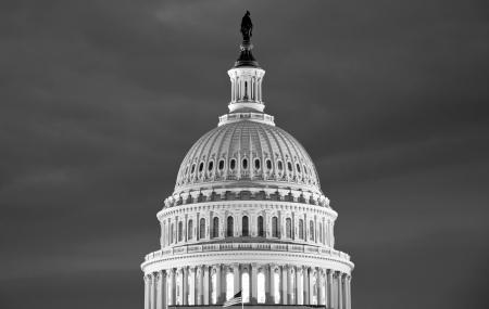 Washington DC , Capitol Building - detail, US  Stock Photo