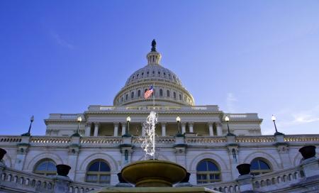 Washington DC, Le Capitole - Etats-Unis Banque d'images - 19288580