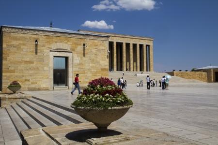 mustafa: Ankara, Turkey - Mausoleum of Ataturk, Mustafa Kemal Ataturk, first president of the Republic of Turkey   Editorial