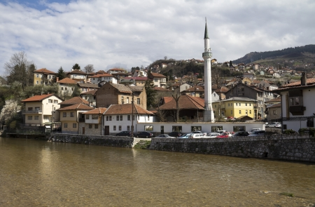 saraybosna: Sarajevo the capital city of Bosnia and Herzegovina  Stock Photo