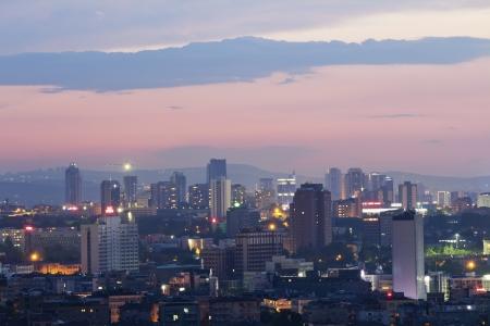 Ankara, Capital city of Turkey, night view