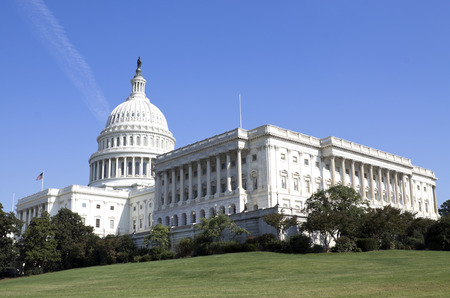 lobbyists: Washington DC, Capitol, US Stock Photo