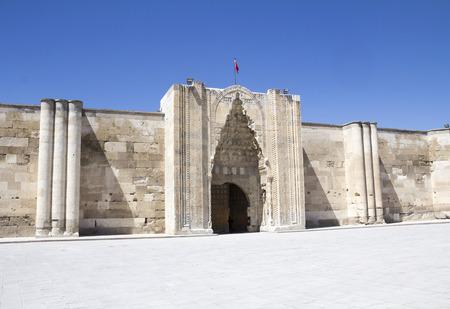 konya: Sultanhani caravansary on the Silk Road, Turkey