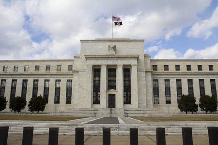 federal reserve: headquarter of the Federal Reserve in Washington, DC, USA, FED Stock Photo