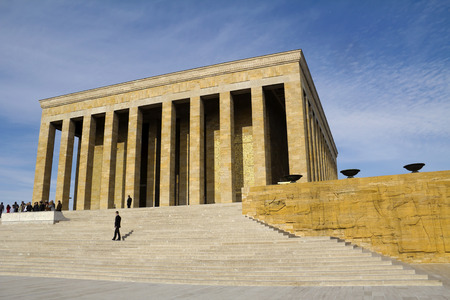 mustafa: Ankara, Turkey - Mausoleum of Ataturk, Mustafa Kemal Ataturk, first president of the Republic of Turkey.