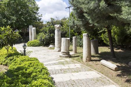 garden of St. Pauls Well, Tarsus, Turkey