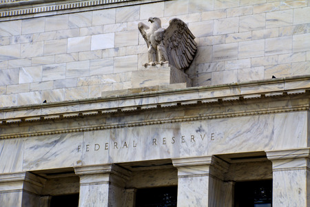 headquarter of the Federal Reserve in Washington, DC, USA,FED 에디토리얼