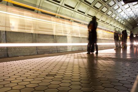 metro: Union Station Metro station in Washington DC, United States Editorial