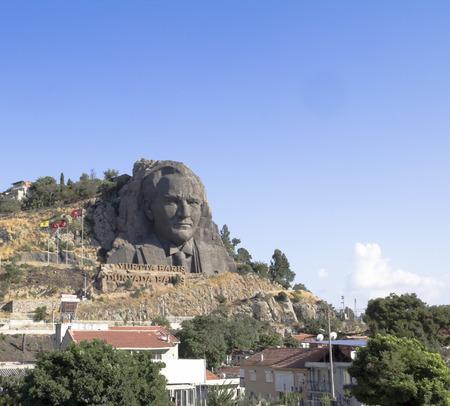 mustafa: Statue of Ataturk, the founder of modern Turkey at Buca in Izmir